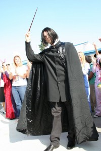 "My contest-winning ""Snape"" costume."