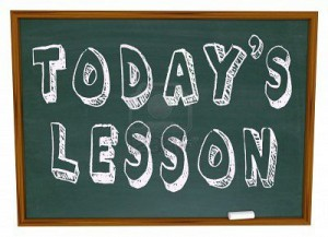 Week of 3/31/14 – Lessons for LA8