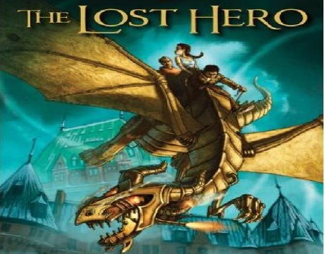 The Lost Hero Book Cover