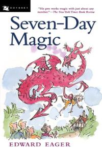 Seven-Day Magic Book Cover