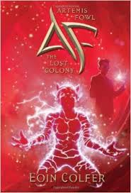 Artemis Fowl The Lost Colony Book Cover