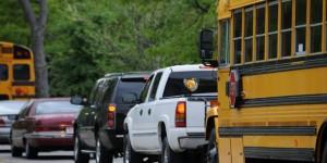 Why Wait In School Traffic?