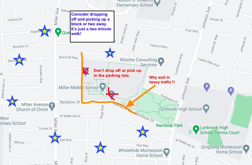 traffic map miller